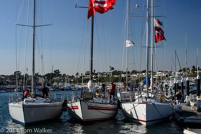 Balboa Yacht Club    Beercan Race 09-11-14