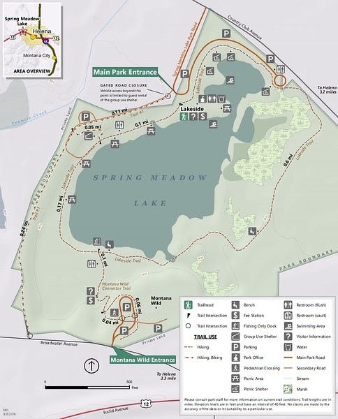Spring Meadow Lake State Park (Trail Map)