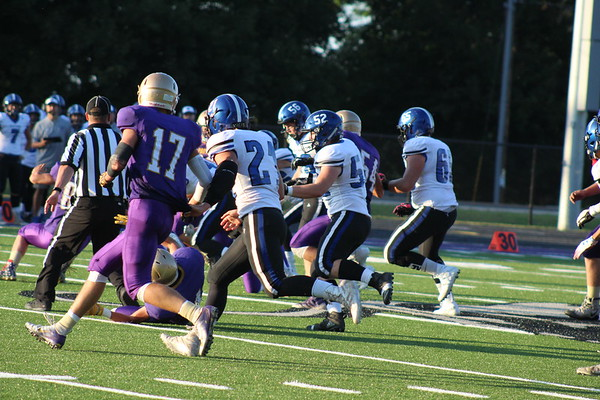 Durand Panthers' football vs. St. Croix Central, Aug. 23rd, 2019