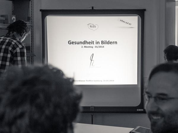 2014_01 Gesundheit in Bildern Meisterklasse 2.Meeting