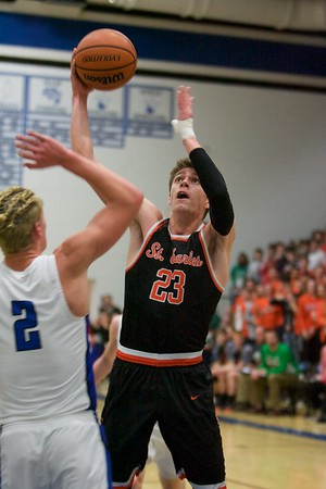 St. Charles East vs. St. Charles North boys basketball
