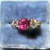 1.71ctw Ruby and Diamond Trilogy Ring 5