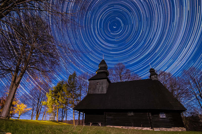 drevený kostolík Ruská Bystrá