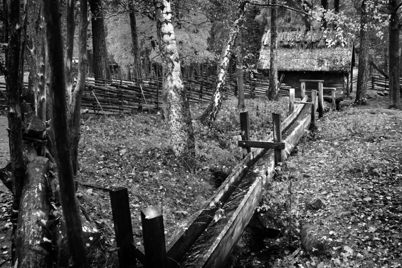 Water-mill / Водяная мельница