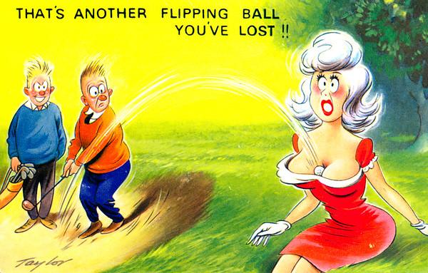 Comic - Golf