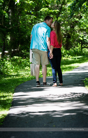 Lindsey & Tim Engagement Photos