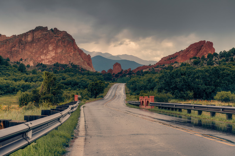 Entering the Garden of the Gods