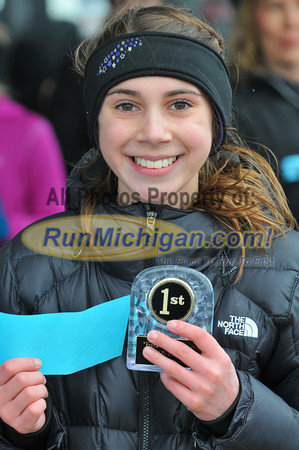 Awards and Post Race - Freeze Your Franny 5K