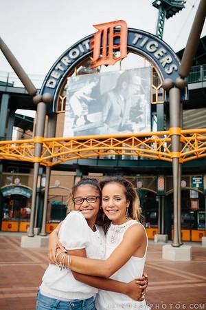 Portraits at Downtown Tiger Stadium