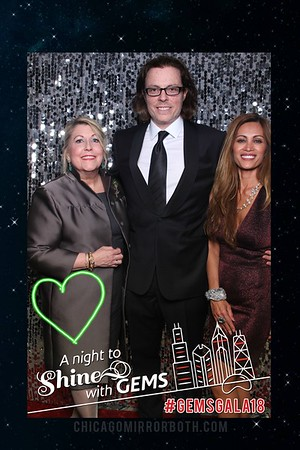 Gems Gala 2018 Mirror Photo Booth