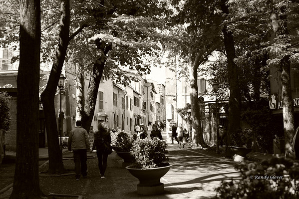 Orvieto (B&W)