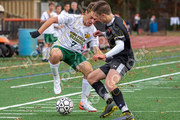 Oliver Ames-King Philip Boys Soccer - 10-28-19