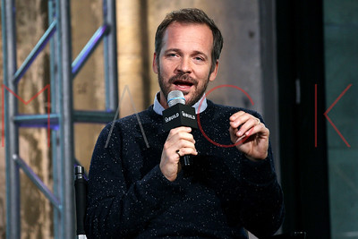 """NEW YORK, NY - OCTOBER 13:  Peter Sarsgaard attends AOL Build Presents: to discuss """"Experimenter"""" at AOL Studios In New York on October 13, 2015 in New York City."""