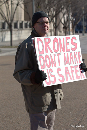 Drone Protest White House 12/10/16