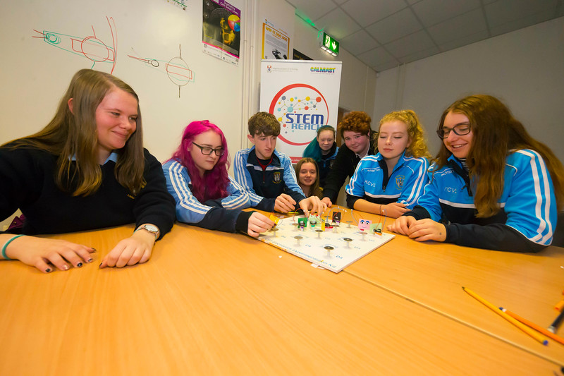 22/11/2017. Waterford Institute of Technology's (WIT) 'College Awareness Day. Pictured are students from Kilkenny city Vocational school. Picture: Patrick Browne  Hundreds of secondary school students from across the South East celebrated College Awareness Week by attending Waterford Institute of Technology's (WIT) 'College Awareness Day' on Wednesday 22 November 2017. The events gave secondary school students a taste of college life and helped students of all ages to become 'college ready' by raising awareness of the benefits of going to college. There was an  hourly talk/workshop on how to become college ready (including presentations on college life), an expo area, and a chance to explore the campus. Students attended workshops on sport, electronics, sport and creative as well as presentations on college life at WIT, student supports, new courses for 2018, routes of entry and clubs and societies. They also got an overview of WIT's new common and broad entry courses for 2018.     Elaine Larkin Communications & PR Executive, Waterford Institute of Technology   Phone: +353 51 845577  Mobile: 087-7105148