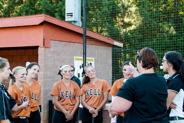 Kell Senior Night vs. N. Springs, 9-22-14