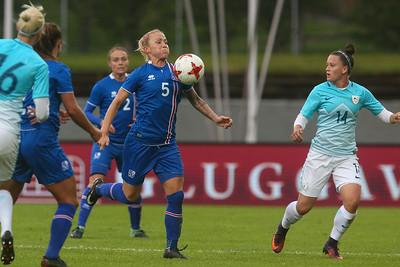 Ísland - Slóvenía 11. júní 2018