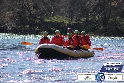 Splash Rafting River Tay 2021