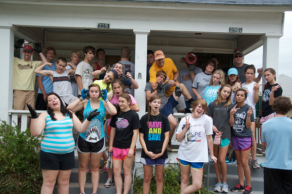 2012 High School Mission Trip