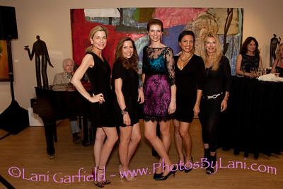 The Girlfriend Factor Little Black Dress Party at Christian Hohmann Gallery 3/14/13