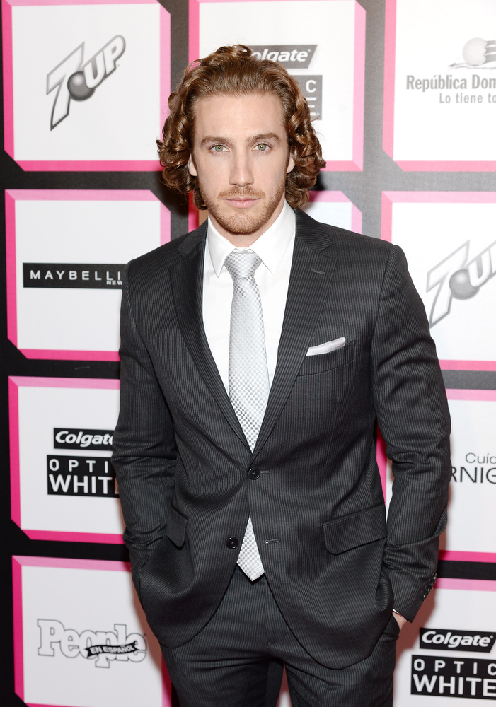 . Actor Eugenio Siller attends People En Espanol\'s 50 Most Beautiful 2013 at Marquee on May 13, 2013 in New York City.  (Photo by Dimitrios Kambouris/Getty Images for People en Espanol)