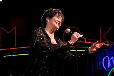 New York, NY - November 27:  Chita Rivera performs at Birdland Jazz Club, New York, USA.
