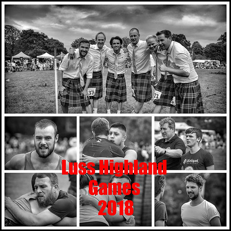 The 2018 Luss Highland Gathering
