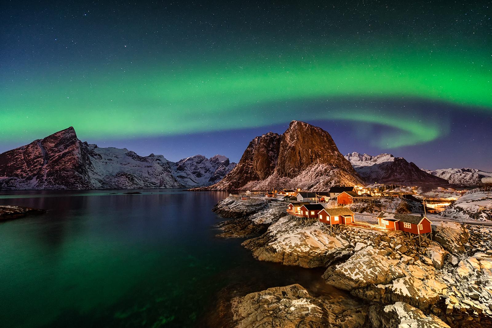 Northern lights, Norway, long exposure, Sony, Venus Laowa