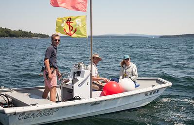July 16th Laser sailing