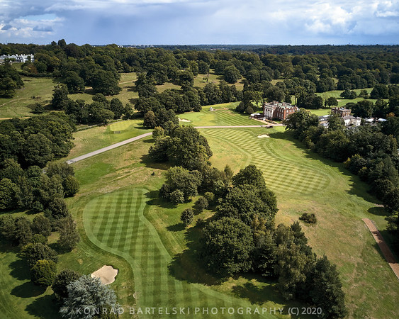 Above the Richmond Golf Club