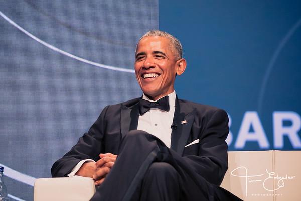 Hunter Foundation: Obama