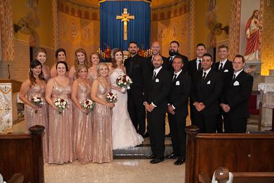 Kaitlyn & Adam Bride, Groom & Wedding Party