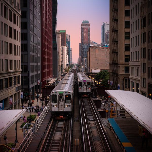 Above the El - Chicago-.jpg