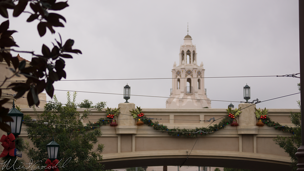 Disneyland Resort, Disney California Adventure, Buena Vista Street, Christmas