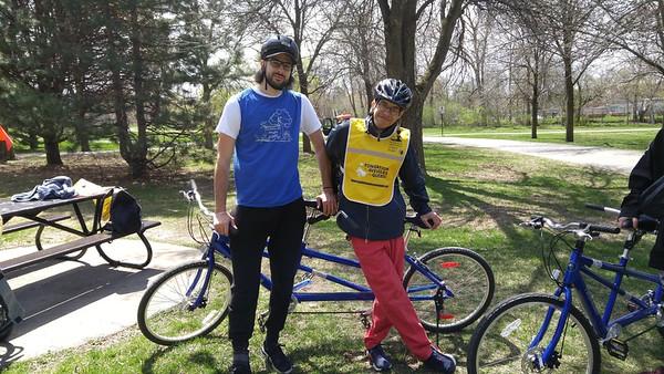 Vélo Tandem - 12 mai