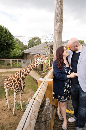 Gilly & Den London Zoo Engagement