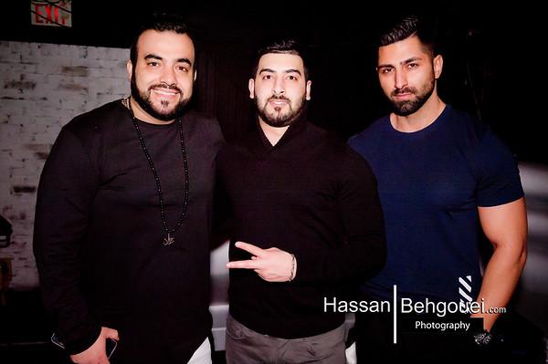 Valentine's Day Feat DJ Y.K. & Nikan W Sahel K. On Percussion Pres/Promo/Prod:Vancouver Persian Events @ StudioNightClub.ca 919 Granville District Ent St LM GDVA Bc Canada (02_17_19)