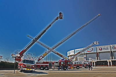 Nassau County Fire & Ems Expo held at the Coliseum 2-26-12