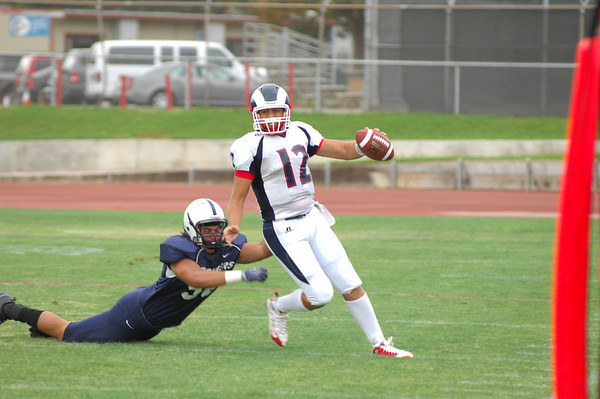 Gavilan at ARC: The Game: 091209 -- FINAL SCORE = 42-7L