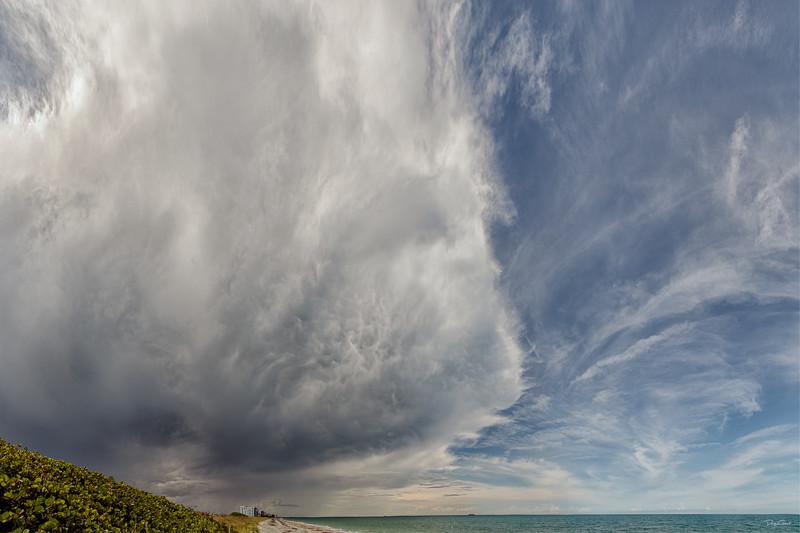"""""""Updrafts meet Downdrafts as the Gulf breezes meet the Ocean breezes"""""""