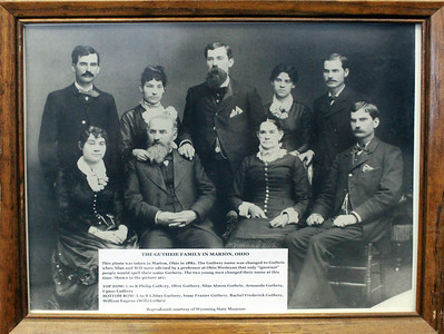 Wyoming pioneers -- the Guthrie family from Marion, Ohio