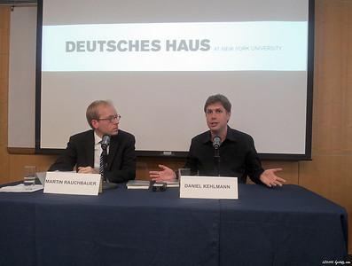 Deutsches Haus at NYU Events 2012