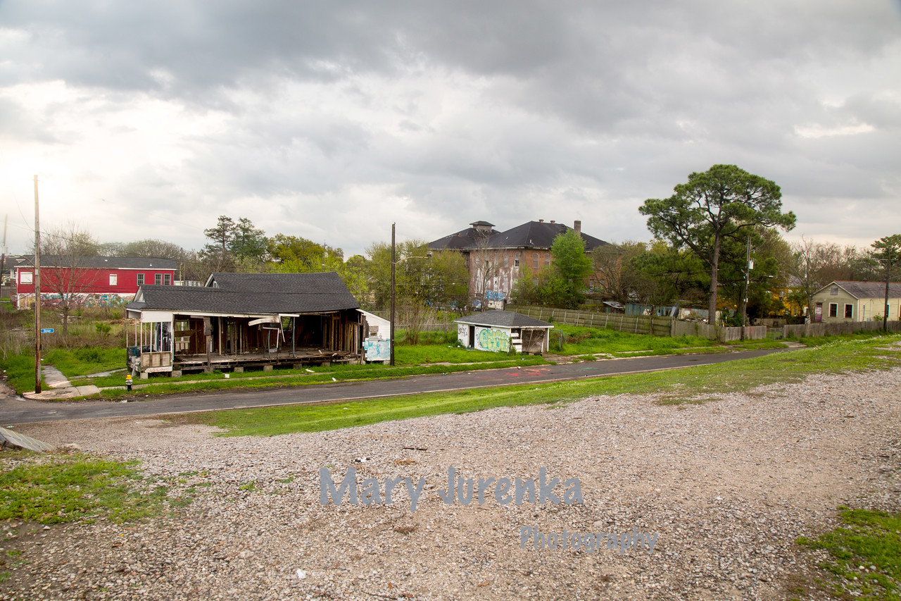 Lower 9th Ward in New Orleans, Louisiana