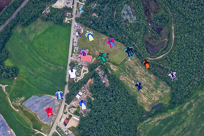 Massachusetts and National Wingsuit Record - June 27, 2015