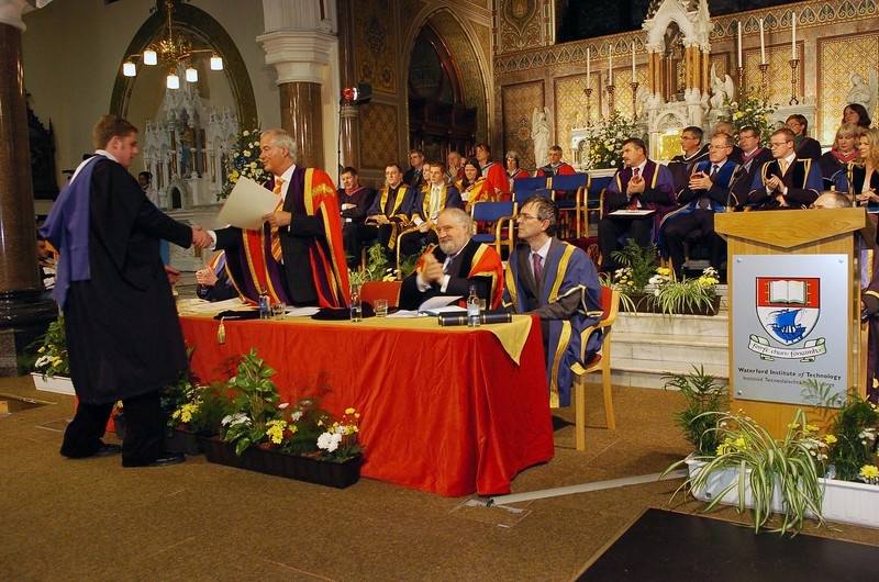Provision 251006 Conferring ceremony at WIT. PIC Bernie Keating/Provision