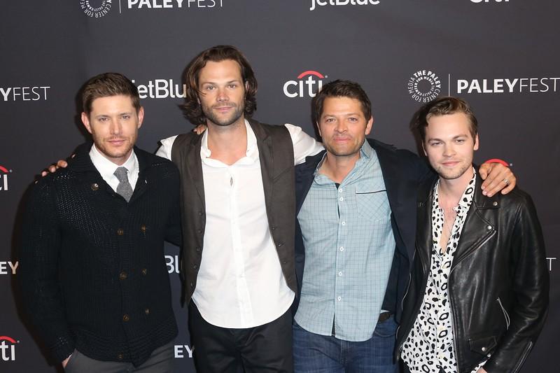 Jensen Ackles, Jared Padalecki, Misha Collins, Alexander Calvert