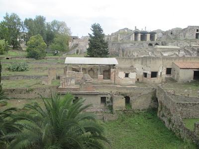 Napoli, Italy - Pompeii Ruins