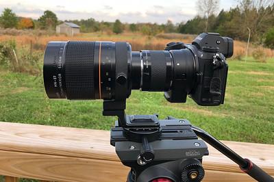 Nikon Z7 with manual focus lenses