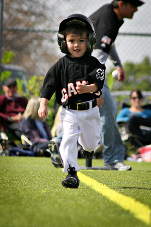 James' T-Ball Game 3-19-11