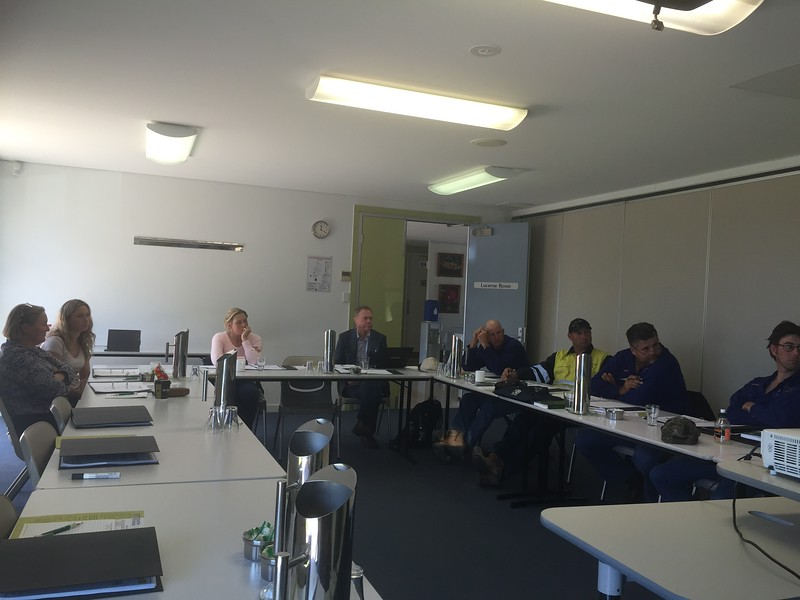 Goondiwindi WHS training 1 September, 2015